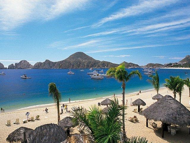 Playa Medano em Los Cabos