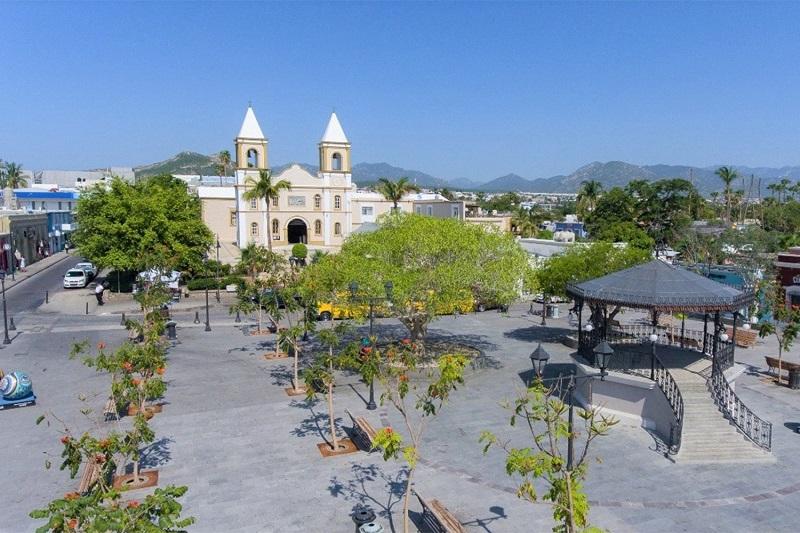 Plaza Mijares em um roteiro de viagem em Los Cabos
