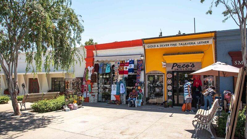 Compras nas ruas em Los Cabos