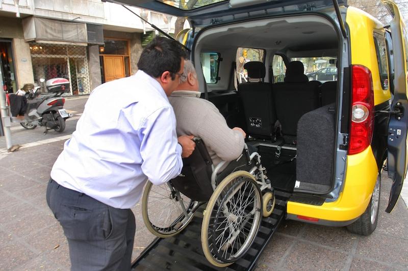 Táxi para deficientes físicos em Los Cabos