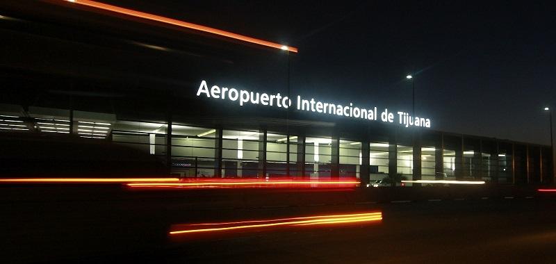 Fachada do Aeroporto Internacional de Tijuana