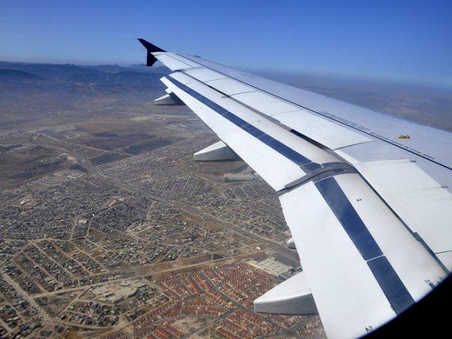 Tempo de avião até Tijuana