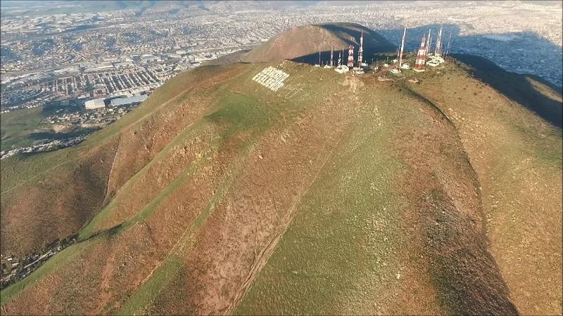 Cerro Colorado de Tijuana no México