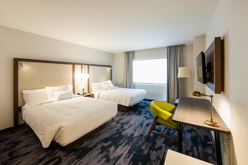 Quarto do Hotel Fairfiel Inn & Suites by Marriott Tijuana em Tijuana