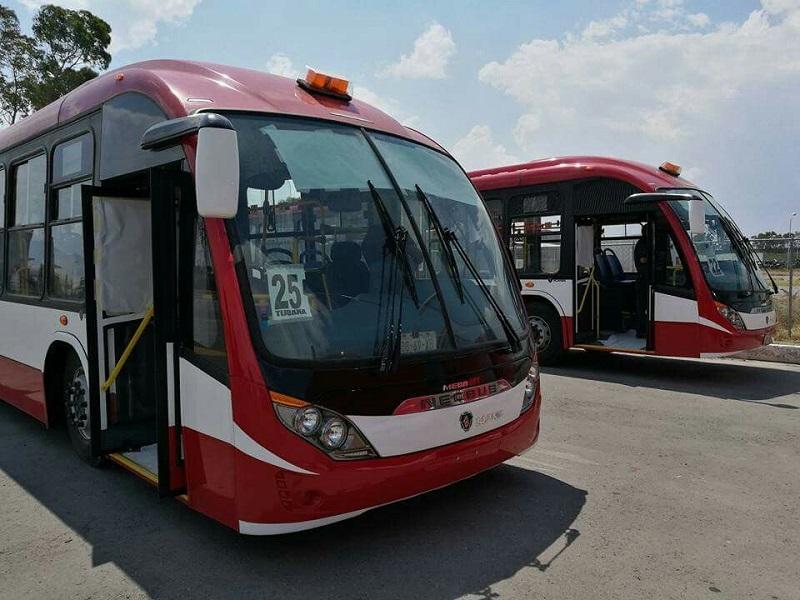 Ônibus para se locomover em Tijuana