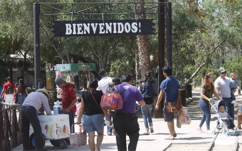 Passeio pelo Parque Morelos em Tijuana