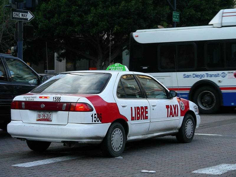 Táxi para se locomover em Tijuana