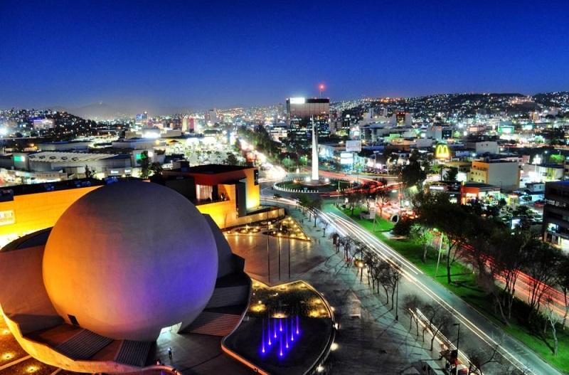 Pontos turísticos em Tijuana no México