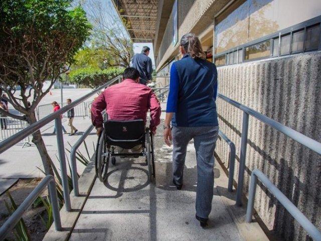 Deficientes físicos em Tijuana