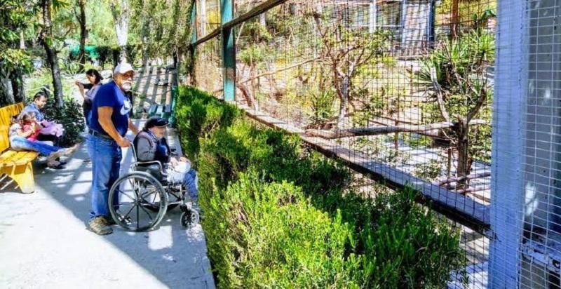 Deficientes físicos em Tijuana: Parque Morelos