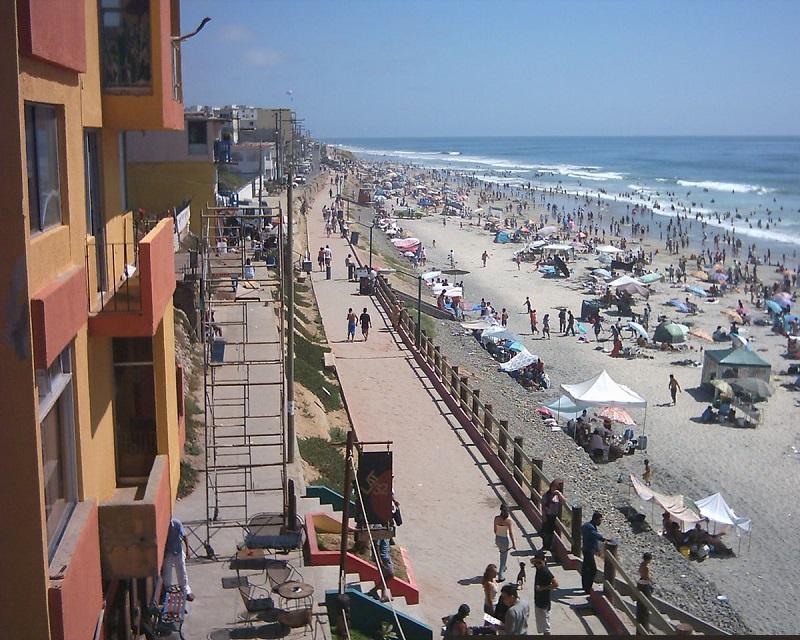 Praia da Enseada em Tijuana