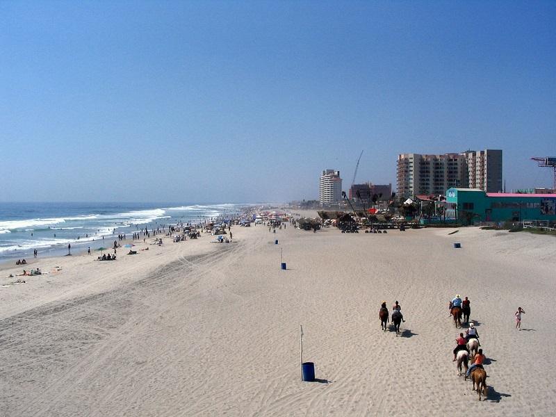 O que fazer em Rosarito: praia