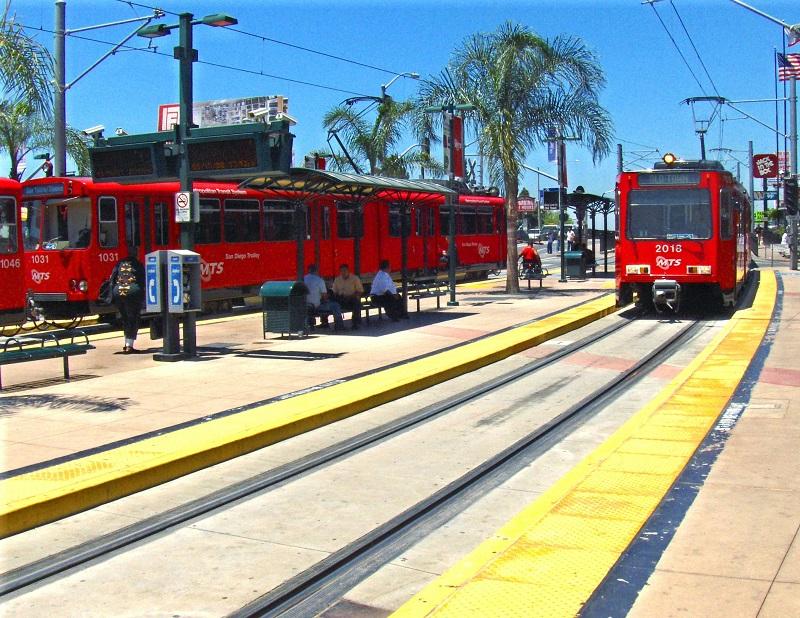 Trolleys San Diego e Tijuana