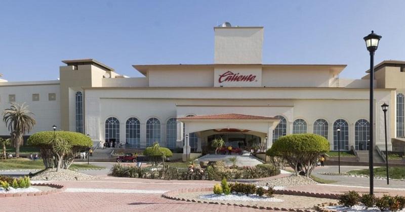 Fachada do Casino Caliente em Tijuana