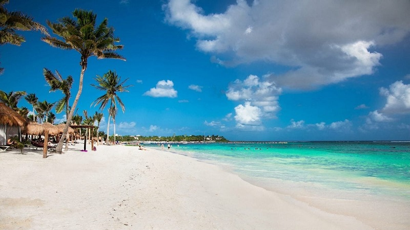 Beleza da Playa Akumal em Riviera Maya