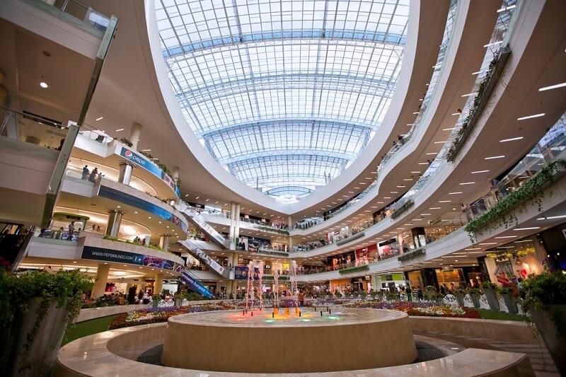 Centro Santa Fe na Cidade do México
