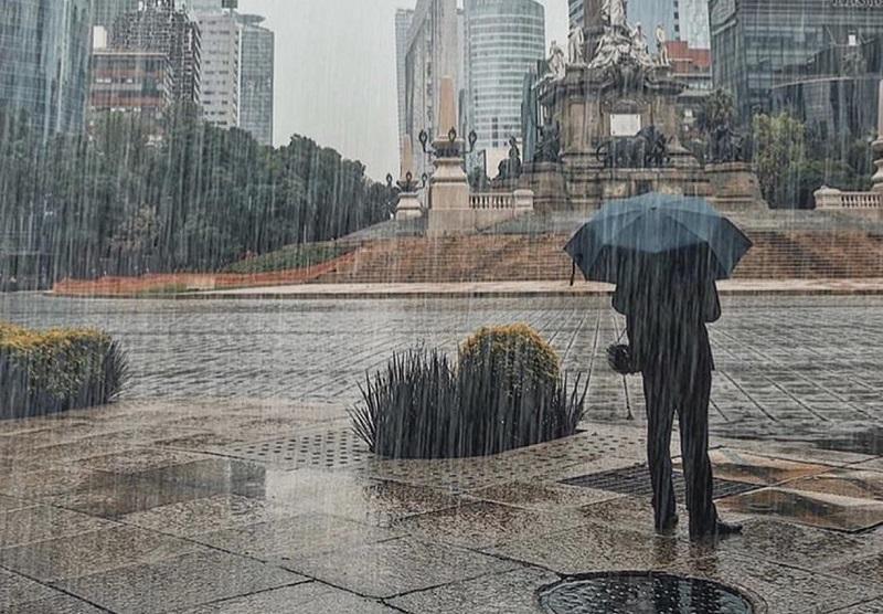 Época mais chuvosa na Cidade do México