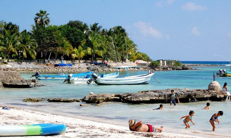 Lazer e entretenimento na Playa Akumal em Riviera Maya