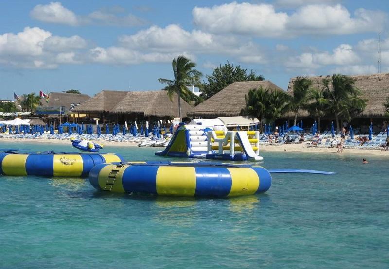 Paradise Beach em Cozumel