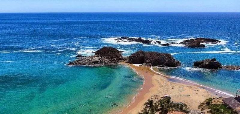 Playa Mazunte em Puerto Escondido