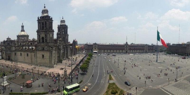 Zócalo na Cidade do México