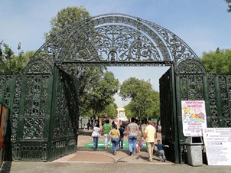Zoológico de Chapultepec na Cidade do México