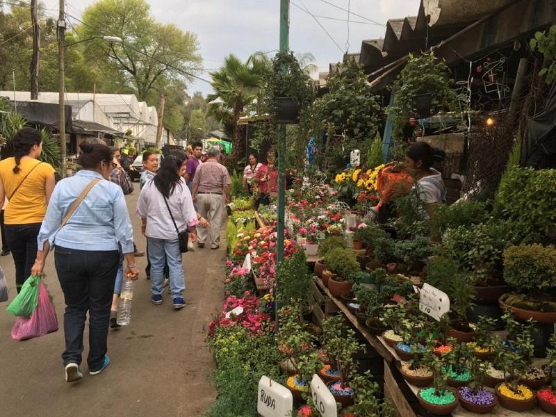 Mercado em Xochimilco