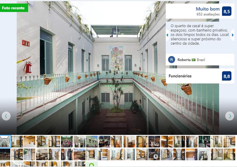 Fachada do Hostel Casa MX Alameda na Cidade do México