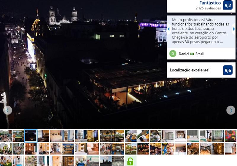 Fachada do Hostel Casa Pepe na Cidade do México