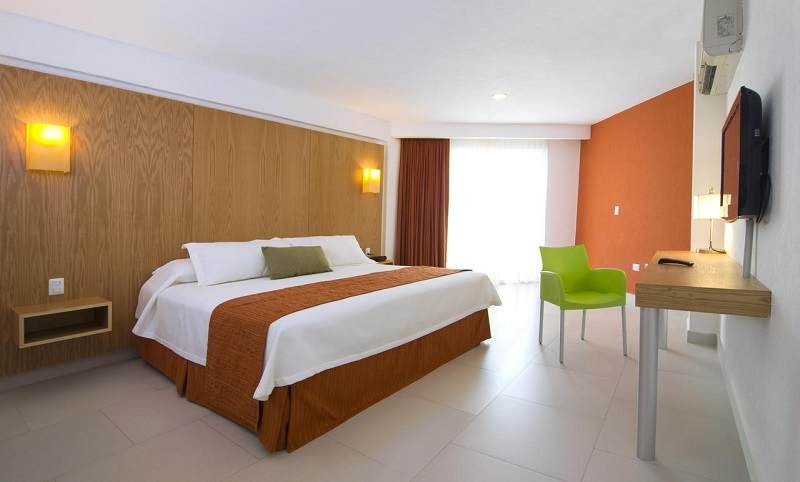 Quarto do Hostel Ramada by Wyndham Cancun City